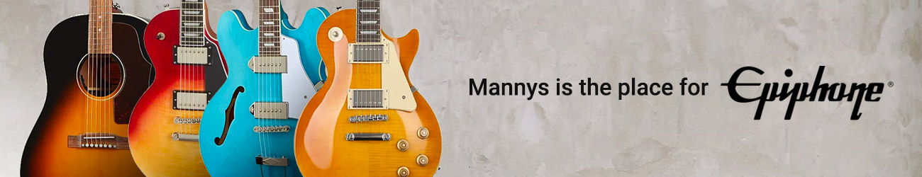 Epiphone - Mannys is the place