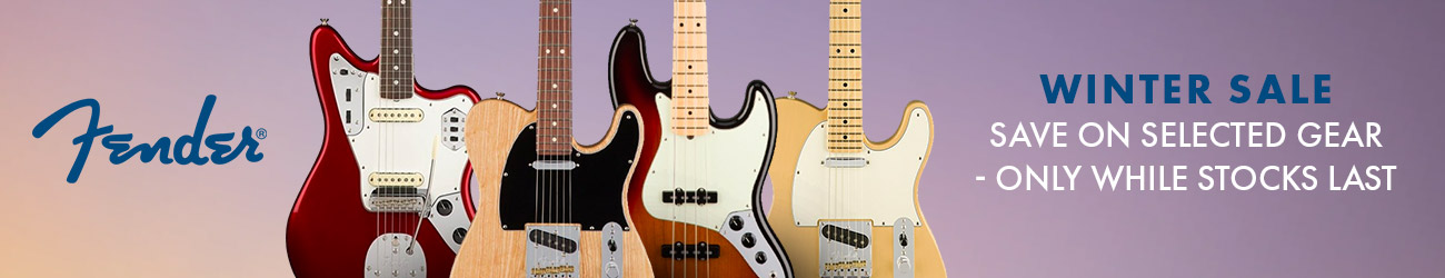 Fender Winter Sale 2020