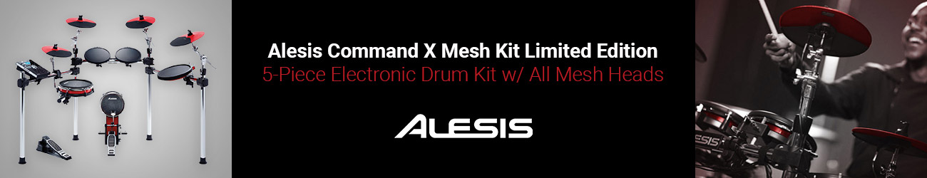 Alesis Command Red