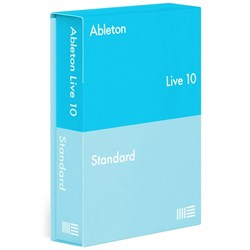 Ableton Live 10 Standard Music Production Software Upgrade from Live Lite