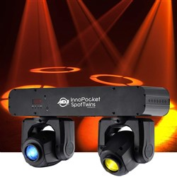 American DJ Inno Pocket Spot Twins Compact Dual Moving Head