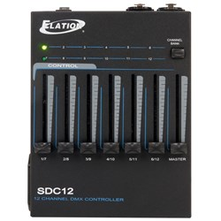 American DJ SDC12 12 Channel DMX Controller