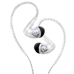 Audiofly AF100 Mk2 In-Ear Monitors w/ Super-Light Twisted Cable (Clear)