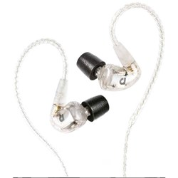 Audiofly AF1120 In-Ear Monitors w/ Super-Light Twisted Cable (Clear)