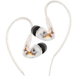 Audiofly AF180 In-Ear Monitors w/ Super-Light Twisted Cable (Clear)