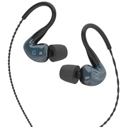 Audiofly AF180 In-Ear Monitors w/ Super-Light Twisted Cable (Stone Blue)