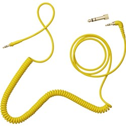 AIAIAI TMA-2 C09 Coiled Cable w/ Adaptor 1.5m (Yellow)