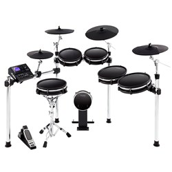 Alesis DM10 MKII Pro Premium 6-Piece Electronic Drum Kit w/ Mesh Heads & 4 Cymbals