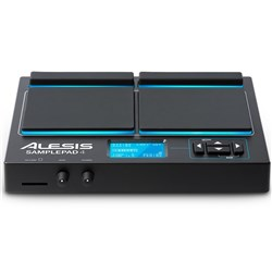 Alesis SamplePad 4 4-Pad Percussion & Sample-Triggering Instrument