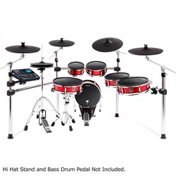 Alesis Strike Pro 6-Piece Professional Electronic Drum Kit w/ Mesh Heads & 5 Cymbals