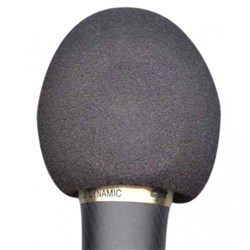 Australasian Foam Wind Shield for 58 style Mic (Black)