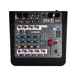 Allen & Heath ZEDi-8 Hybrid Compact Mixer / USB Interface