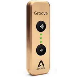 Apogee Groove Portable USB DAC & Headphone Amp for Mac & PC (Ltd Edition Gold)