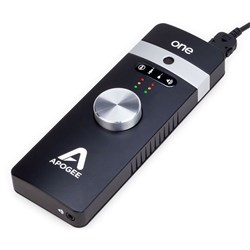 Apogee ONE Audio Interface w/ Built in Mic For Mac & iOS