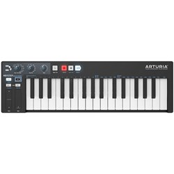 Arturia KeyStep Portable Polyphonic Step Sequencer & Keyboard Controller (Black)