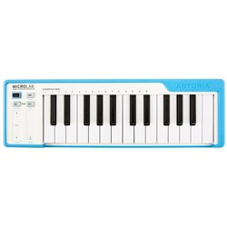 Arturia MicroLab 25-Key Portable USB Controller Keyboard (Blue)