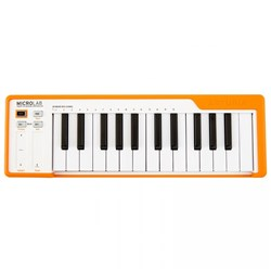 Arturia MicroLab 25-Key Portable USB Controller Keyboard (Orange)