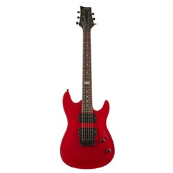 Ashton Joey Backstage RD Mini Electric Guitar (Red)