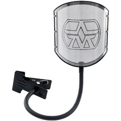 Aston Shield Solid Stainless Steel Pop Filter w/ Gooseneck