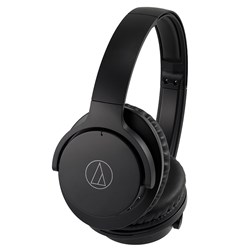 Audio Technica ATH ANC500BT Wireless Active Noise Cancelling Headphones (Black)