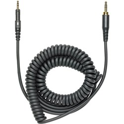 Audio Technica ATH M50x Replacement Coiled Cable (Black)