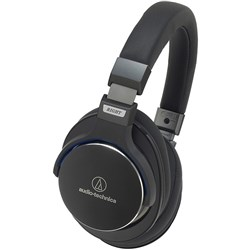 Audio Technica ATH MSR7 Hi-Res Headphones (Black)