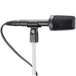 Audio Technica BP4025 Balanced X/Y Stereo Broadcast Condenser w/ Clamp, Windscreen & Cable