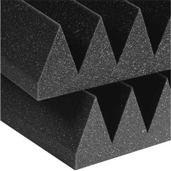 "Auralex 4"" Studiofoam Wedge 6x 2ft x 2ft Panels (Charcoal)"