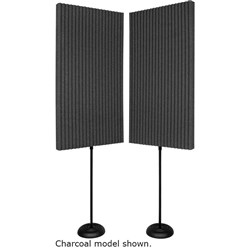 "Auralex 3"" ProMAX 2ft x 4ft Panels (2 Stands) (Burgundy)"