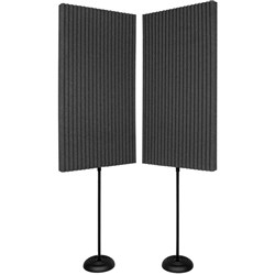"Auralex 3"" ProMAX 2ft x 4ft (2 Stands) (Charcoal)"