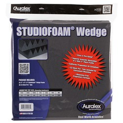 "Auralex Studiofoam Grab n Go Acoustics 2"" Wedge (2 Pack)"