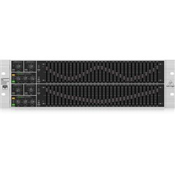 Behringer Ultragraph Pro FBQ6200HD Hi-Def 31-Band Stereo Graphic EQ