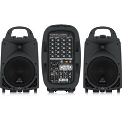 Behringer Europort PPA500BT 500W PA System w/ Bluetooth