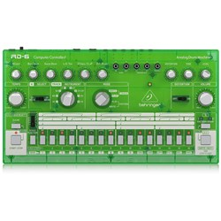 Behringer RD6 Classic 606 Analog Drum Machine w/ 16 Step Sequencer (Lime)