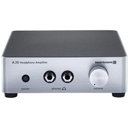 Beyerdynamic A20 Premium Headphone Amplifier w/ Dual Outputs from 30-600 ohms