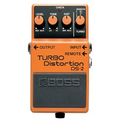 Boss DS2 Turbo Distortion Pedal
