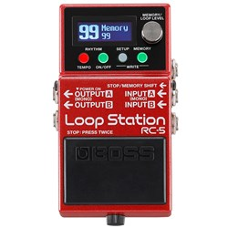 Boss RC-5 Loop Station Advanced Compact Stompbox Looper