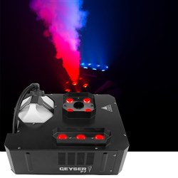 Chauvet Geyser P7 Vertical Smoke Machine with two LED Zones (1290W)