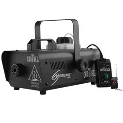 Chauvet Hurricane 1000 Smoke Machine including FC-M and Wireless Remote (800W)