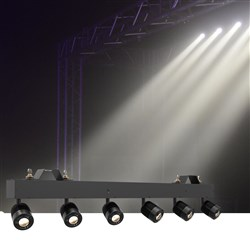 Chauvet Pinspot Bar (6 x 15W LED Adjustable Heads)