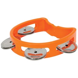 Chord Music Mini D Tambourines (Orange)