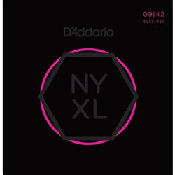 D'Addario NYXL0942 Nickel Wound Electric Guitar Strings - Super Light (9-42)