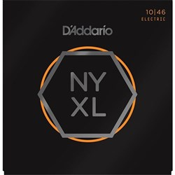 D'Addario NYXL1046 Nickel Wound Electric Guitar Strings - Regular Light (10-46)