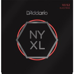 D'Addario NYXL1052 Nickel Wound Electric Strings - Light Top / Heavy Bottom (10-52)