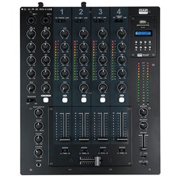 DAP Audio CORE MIX-4 USB 4-Channel DJ Mixer w/ USB Audio Interface