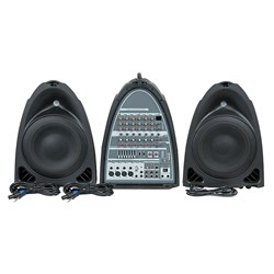 DAP Audio Entertainer Mobile Set Basic All-In-One Portable PA System w/ USB MP3 Player