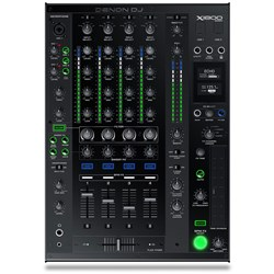 OPEN BOX Denon X1800 Prime Professional 4-Channel DJ Club Mixer