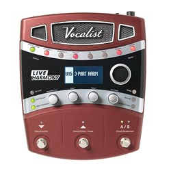 DigiTech Vocalist Live Harmony Live Performance Intelligent Vocal Harmony Processor Pedal