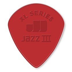 Dunlop Nylon Jazz III XL Guitar Pick 6-Pack (Red)
