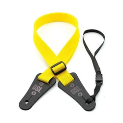 "DSL Ukulele Strap (Yellow, 1"")"